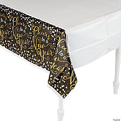New Year Confetti Tablecloth