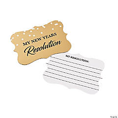 New Year's Resolution Tags
