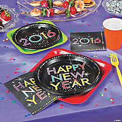 New Year 2016 Sparkle Party Supplies