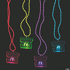 New Year's Eve Light-Up Necklaces