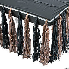 New Year's Fringe Tableskirt