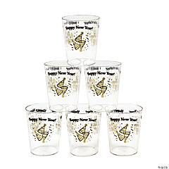 New Year's Shot Glasses