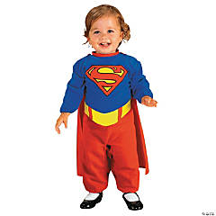 Newborn Girl's Supergirl Costume