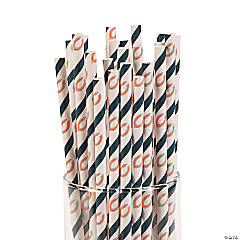 NFL® Chicago Bears Paper Straws