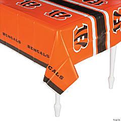 NFL® Cincinnati Bengals Plastic Tablecloth