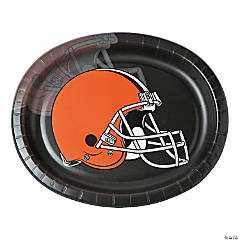NFL® Cleveland Browns™ Oval Paper Dinner Plates