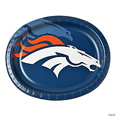 NFL® Denver Broncos™ Oval Dinner Plates
