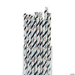 NFL® Denver Broncos Paper Straws