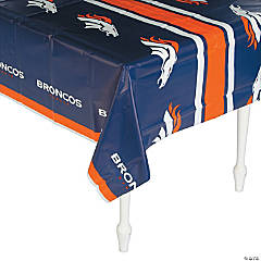 NFL® Denver Broncos Plastic Tablecloth