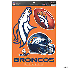 NFL® Denver Broncos™ Window Decals