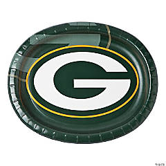 NFL® Green Bay Packers™ Oval Dinner Plates