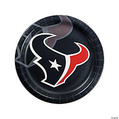 NFL® Houston Texans™ Paper Dinner Plates