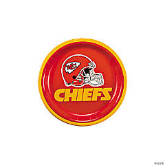 NFL® Kansas City Chiefs™ Paper Dessert Plates
