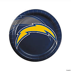 NFL® Los Angeles Chargers™ Paper Dinner Plates