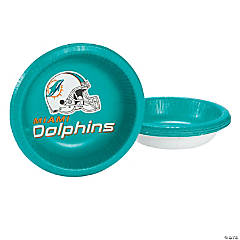 NFL® Miami Dolphins™ Paper Bowls