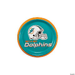 NFL® Miami Dolphins™ Paper Dessert Plates