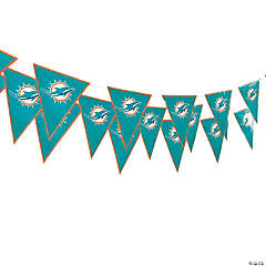 NFL® Miami Dolphins™ Pennant Banner