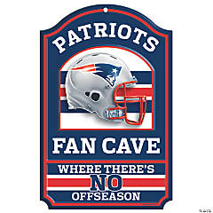 NFL® New England Patriots™ Fan Cave Sign