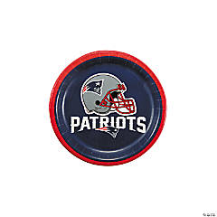NFL® New England Patriots™ Paper Dessert Plates