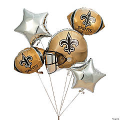 NFL® New Orleans Saints™ Mylar Balloons