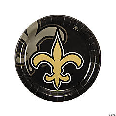 NFL® New Orleans Saints™ Paper Dinner Plates