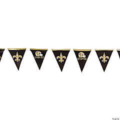 NFL® New Orleans Saints™ Plastic Pennant Banner