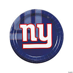 NFL® New York Giants™ Paper Dinner Plates