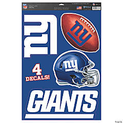 NFL® New York Giants™ Window Decals