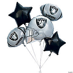 NFL® Oakland Raiders™ Balloon Set