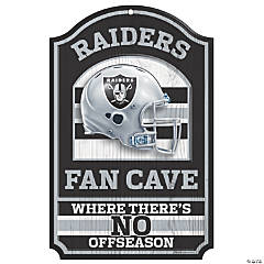 NFL® Oakland Raiders™ Fan Cave Sign