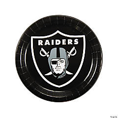 NFL® Oakland Raiders™ Paper Dinner Plates