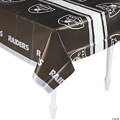 NFL® Oakland Raiders Plastic Tablecloth