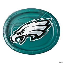 NFL® Philadelphia Eagles™ Oval Paper Dinner Plates