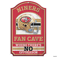 NFL® San Francisco 49ers™ Fan Cave Sign