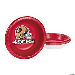 NFL® San Francisco 49ers™ Paper Bowls