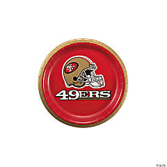 NFL® San Francisco 49ers™ Paper Dessert Plates