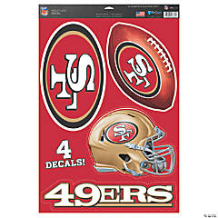 NFL® San Francisco 49ers™ Window Decals