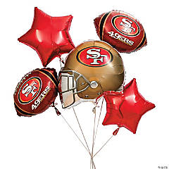 NFL® San Francisco 49ers™ Balloon Set