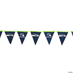 NFL® Seattle Seahawks™ Plastic Pennant Banner