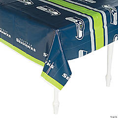 NFL® Seattle Seahawks Plastic Tablecloth
