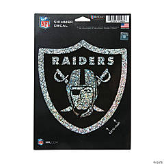 NFL<sup>&#174;</sup> Oakland Raiders<sup>&#8482;</sup> Shimmer Decal