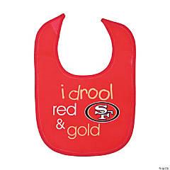 NFL<sup>&#174;</sup> San Francisco 49ers<sup>&#8482;</sup> Baby Bib