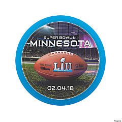 NFL<sup>&#174;</sup> Super Bowl LII Paper Dinner Plates