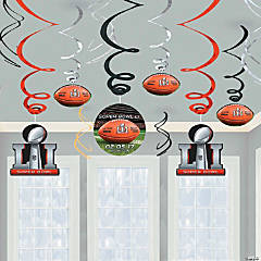 NFL® Super Bowl LI Hanging Swirls
