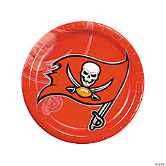 NFL® Tampa Bay Buccaneers™ Paper Dinner Plates