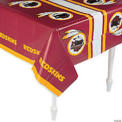 NFL® Washington Redskins Plastic Tablecloth