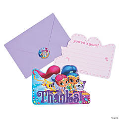 Nickelodeon™ Shimmer & Shine™ Thank You Cards