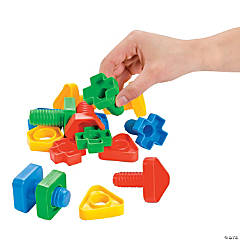 Nifty Nuts & Bolts Manipulatives