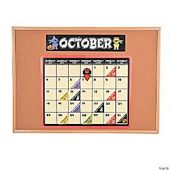 Ninja Bulletin Board Calendar