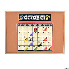 Ninja Calendar Bulletin Board Set